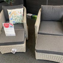 Henley Lounge Set (2 chairs/2 Footstools)