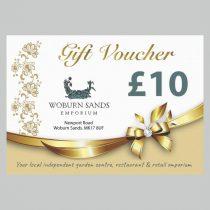 WOBURN SANDS EMPORIUM GIFT VOUCHER £10