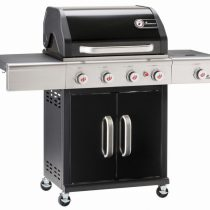 Triton MaxX 4.1 Burner Gas Barbecue – Black