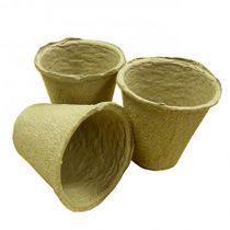 20 x 6cm Round Peat Free Pots