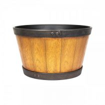 Wooden Barrel Light Oak 33cm
