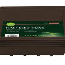 Half Seed Tray [5] Black
