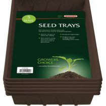 Seed Trays [5] Black