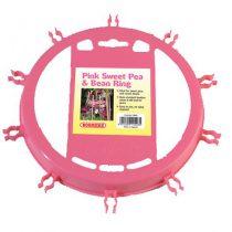 Sweet Pea & Bean Ring Pink