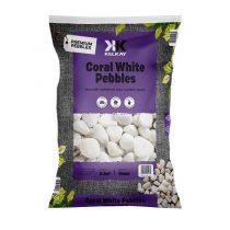 Coral White Pebbles