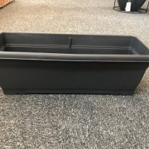 Flower Box 520 x 195 x 155mm Anthracite (with Tray)