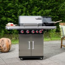 New Rexon 4.1 Gas Barbecue Stainless Steel